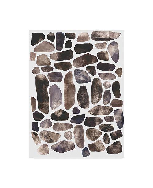 "Trademark Global Emma Scarvey Stepping Stones II Canvas Art - 20"" x 25"""