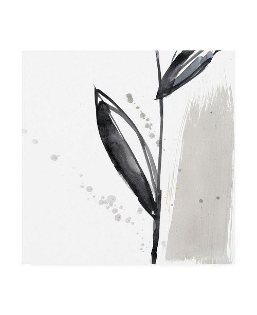 "Trademark Global Jennifer Goldberger Ua Ch Blush Flower Splash IV Canvas Art - 15"" x 20"""
