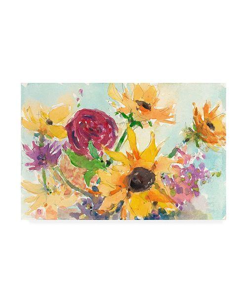 "Trademark Global Samuel Dixon Bright Wild Flowers II Canvas Art - 15"" x 20"""