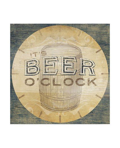 "Trademark Global June Erica Vess Beverage O'Clock III Canvas Art - 20"" x 25"""
