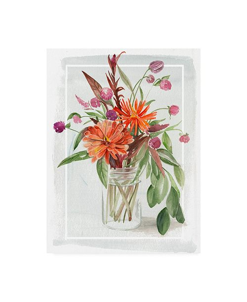 "Trademark Global Jennifer Paxton Parker Summer Wildflowers I Canvas Art - 20"" x 25"""