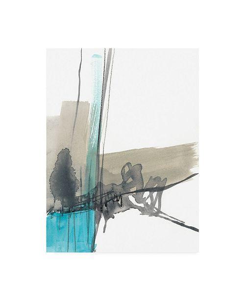 "Trademark Global Jennifer Goldberger Ua Ch Kinetic Grid IX Canvas Art - 20"" x 25"""
