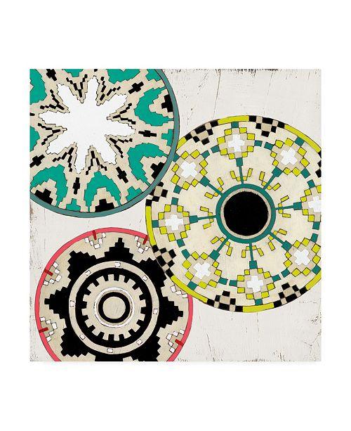 """Trademark Global June Erica Vess Modern Baskets I Canvas Art - 15"""" x 20"""""""