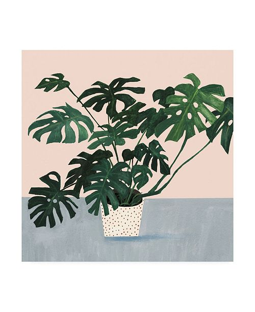"Trademark Global Victoria Borges Houseplant III Canvas Art - 15"" x 20"""