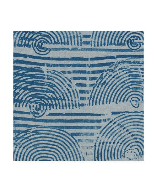 "Trademark Global Chariklia Zarris Arch Cloth I Canvas Art - 20"" x 25"""