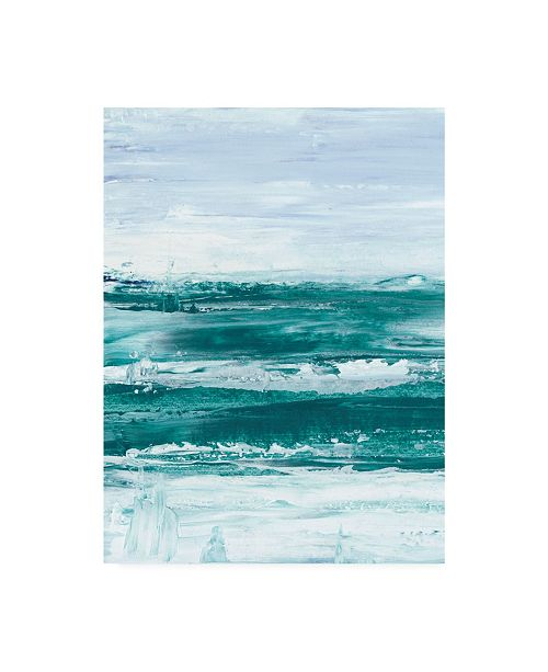 "Trademark Global Ethan Harper Choppy Waters I Canvas Art - 20"" x 25"""