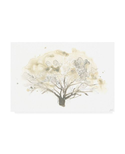 "Trademark Global June Erica Vess Neutral Arbor II Canvas Art - 15"" x 20"""
