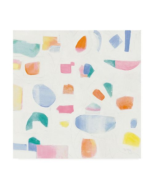 "Trademark Global Piper Rhue Joy Abstract Canvas Art - 20"" x 25"""
