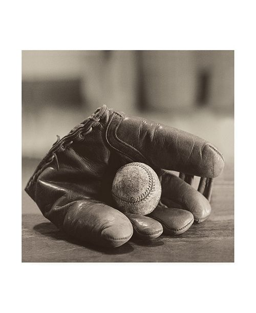 "Trademark Global Judy B. Messer Baseball Nostalgia I Canvas Art - 20"" x 25"""