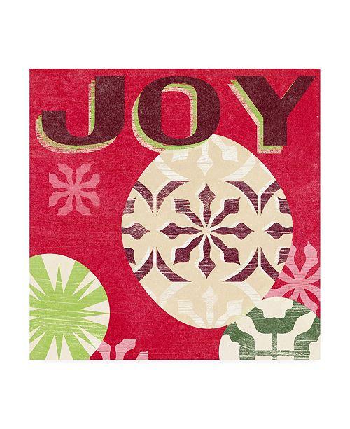 "Trademark Global June Erica Vess Lets Get Jolly IV Canvas Art - 15"" x 20"""
