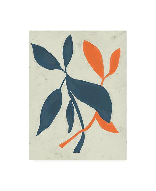 "Trademark Global Chariklia Zarris Tropic I Canvas Art - 15"" x 20"""