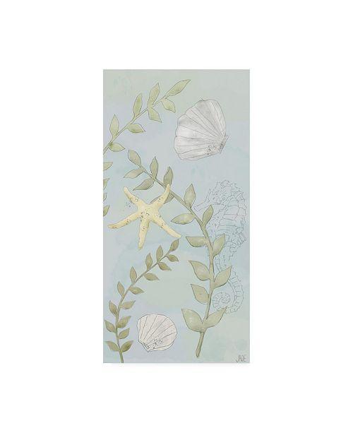 "Trademark Global Jade Reynolds Water Gardens I Canvas Art - 15"" x 20"""