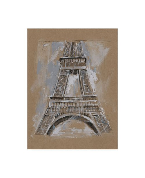 "Trademark Global Ethan Harper Brushwork Architecture Study II Canvas Art - 15"" x 20"""