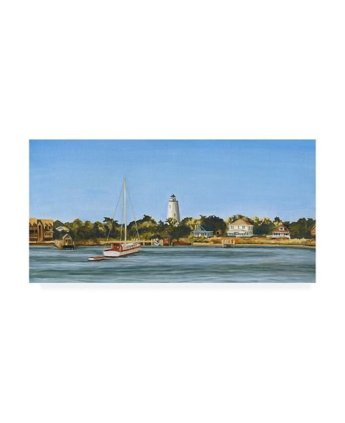 "Trademark Global Dianne Miller Harbor Coast Canvas Art - 15"" x 20"""