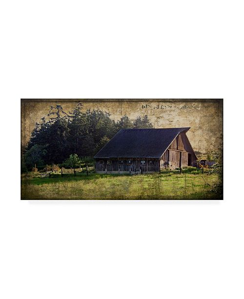 "Trademark Global Rachel Perry Widbys Barn II Canvas Art - 15"" x 20"""