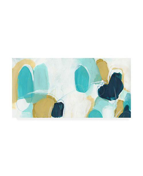 "Trademark Global June Erica Vess Boundless II Canvas Art - 15"" x 20"""