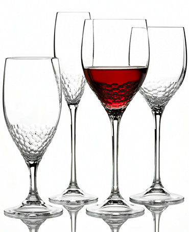 Vera wang wedgwood sequin stemware collection shop all glassware stemware dining - Vera wang stemware ...