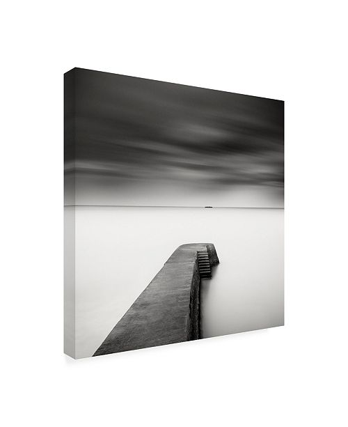 Wilco Home Decor: Trademark Global Wilco Drag The Jetty Study 1 Canvas Art