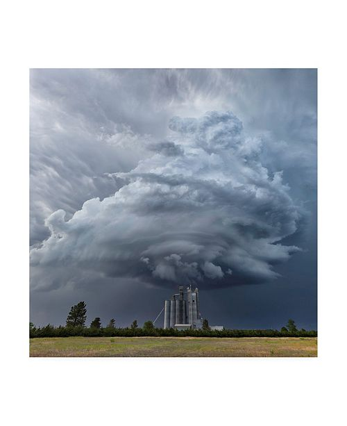 "Trademark Global Rob Darby Mesocyclone Canvas Art - 15.5"" x 21"""