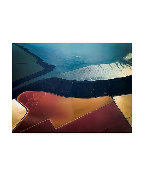 "Trademark Global Rob Darby Salt Flats 005 Canvas Art - 19.5"" x 26"""