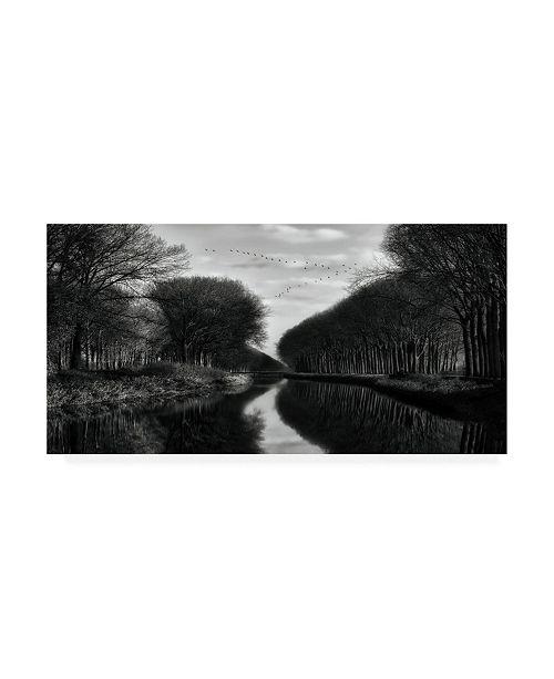 """Trademark Global Yvette Depaepe The Art of Frozen Time Canvas Art - 19.5"""" x 26"""""""