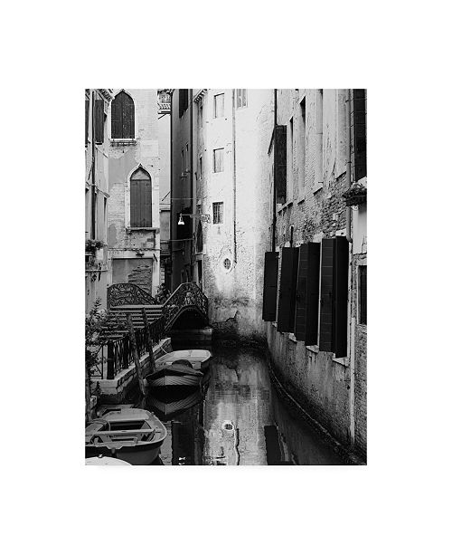"Trademark Global Design Fabrikken In Venice Fabrikken Canvas Art - 36.5"" x 48"""