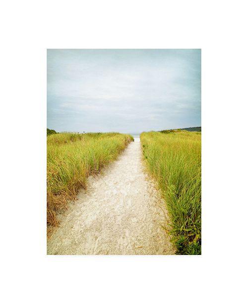"Trademark Global Brooke T. Ryan Beach Trail Canvas Art - 15.5"" x 21"""