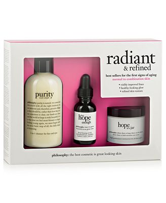 philosophy radiant & refined skincare value set