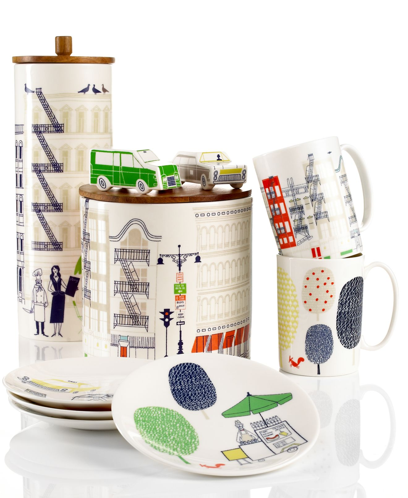 kate spade new york dinnerware, hopscotch drive & about town