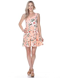 Women's Flower Crystal Dress