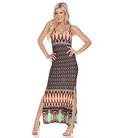 White Mark Women's Nila Maxi Dress