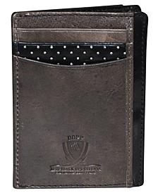 Alpha RFID Front Pocket Get-Away Wallet
