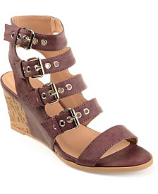 Journee Collection Women's Monika Wedges