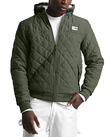 Men's Cuchillo Quilted Fleece-Lined Hooded Jacket