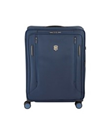 "Victorinox Swiss Army VX Avenue 25"" Medium Expandable Softside Spinner Suitcase"