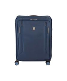 "Victorinox Swiss Army VX Avenue 25"" Medium Expandable Softside Spinner Suitcase"