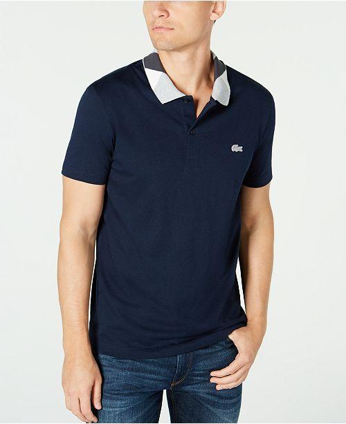 Lacoste Men's Semi-Fancy Collar Polo Shirt, Created For Macy's
