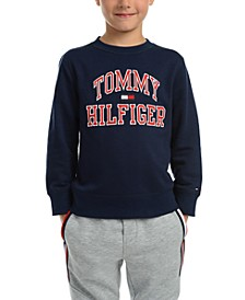 Little Boys Henry Fleece Logo Sweatshirt
