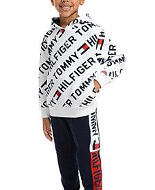 Tommy Hilfiger Little Boys Jayden Fleece Logo Hoodie