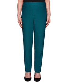 Alfred Dunner Classics Allure Pull-On Slim-Leg Pants