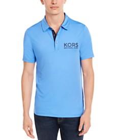 Michael Kors Men's Performance Stretch Sport Logo Polo Shirt, Created for Macy's