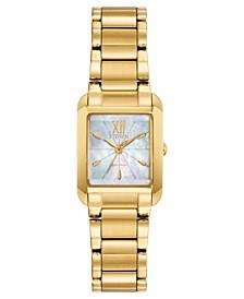 Eco-Drive Women's Bianca Gold-Tone Stainless Steel Bracelet Watch 22mm