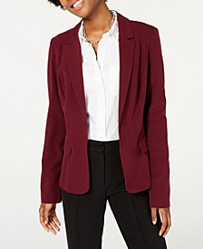 Juniors' Notched-Collar Blazer
