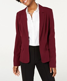 BCX Juniors' Notched-Collar Blazer