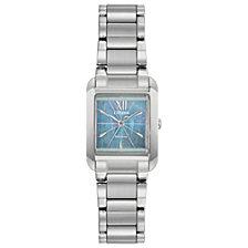 Citizen Eco-Drive Women's Bianca Stainless Steel Bracelet Watch 22mm