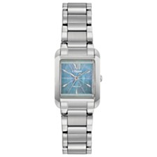 Citizen Eco-Drive Women's Bianca Stainless Steel Bracelet Watch 22mm