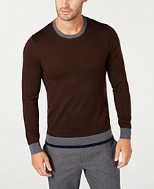 Men's Merino Wool Blend Sweater, Created for Macy's