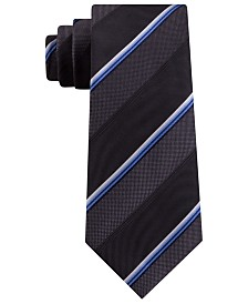 Kenneth Cole Reaction Men's Slim Multi-Stripe Tie