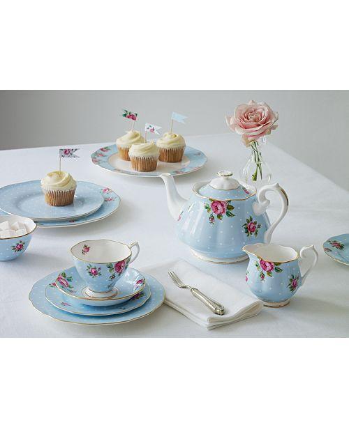 Royal Albert Polka Blue Collection