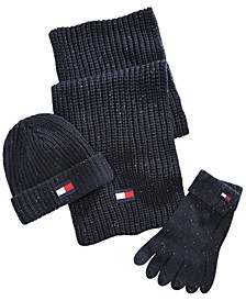 Ski Patrol Donegal Hat, Scarf & Gloves Set